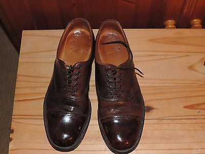 Army Officers Brown Shoes size 10L