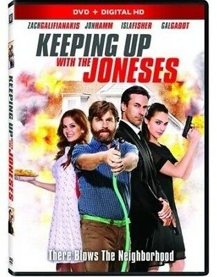 Keeping Up With The Joneses (2017, REGION 1 DVD New)