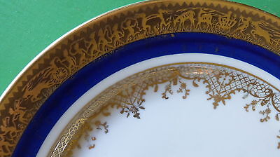 Lovely unique old plate from Trettau Bavaria Germany