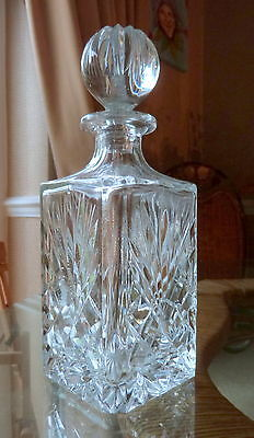 Crystal glass decanter *LOVELY*