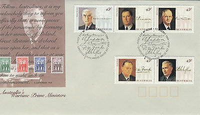 1994 - Australia - Wartime Prime Ministers  - First Day Cover