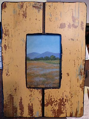 California Impressionist Oil Painting By Listed Artist Jesse  (J.d.) Rasberry
