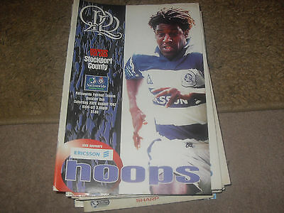 Queens Park Rangers v Stockport County 23/8/97