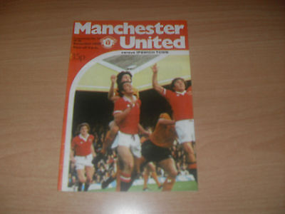 Manchester United v Ipswich Town 18/11/78