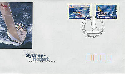 1994 - Australia - Hobart Yacht Race Self Adhesive - First Day Cover