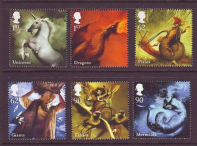 2009 Mythical Creatures Set U/m - Below Face