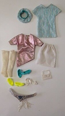 Vintage Jem of The HOLOGRAMS Doll Clothes And Shoes NO DOLL