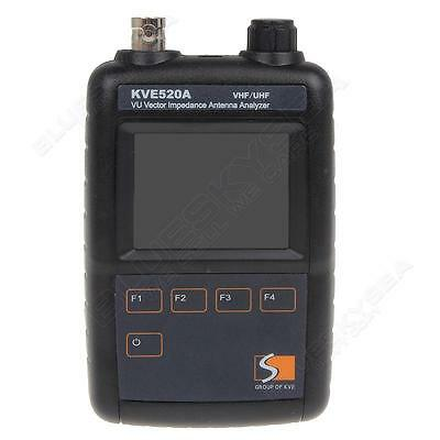 KVE520A Vector Color Graphic Impedance Antenna Signal Analyzer VHF/UHF Dual Band