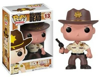 The Walking Dead - Rick Grimes - Funko Pop! Television (2012, Toy New)