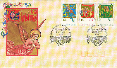 1993 - Australia -  Christmas - First Day Cover
