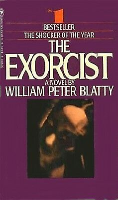 1970s William Peter Blatty The Exorcist book cover replica fridge magnet - new!