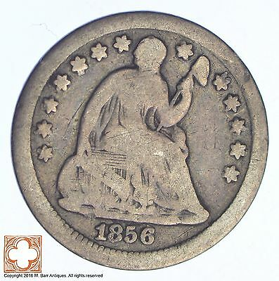 1856 Seated Liberty Silver Half Dime *XB60