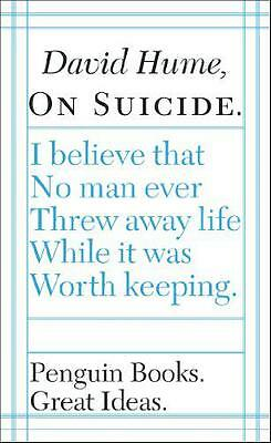 On Suicide (Penguin Great Ideas), David Hume | Paperback Book | 9780141023953 |