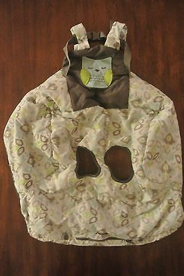 Eddie Bauer Baby Shopping Cart Seat Coverup Clean Seat Owl