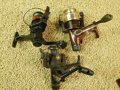 2   Quantum spinning  reels  I Shimano