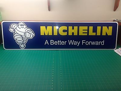 """Michelin PVC Sign 3/8 (10mm) thick  12"""" x 48"""""""