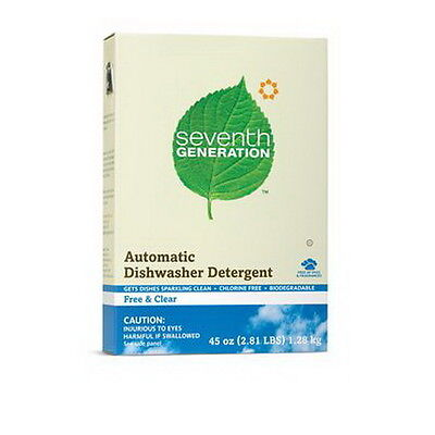 Seventh Generation Automatic Dishwasher Powder Free and Clear 1.27kg