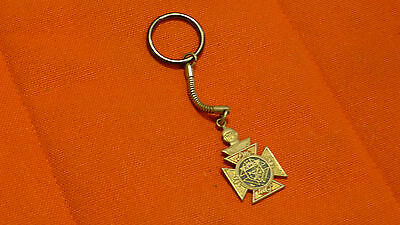 KNIGHTS OF COLUMBUS rare Keychain - vintage / antique collectible