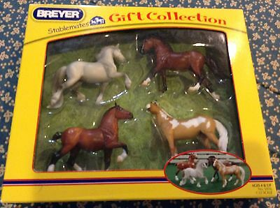 NIB BREYER Stablemates Gift Collection No. 5976 1:32 American Paint~Swedish Warm