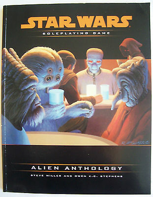 STAR WARS Role Playing Game RPG ALIEN ANTHOLOGY Book - VGC Uncirculated
