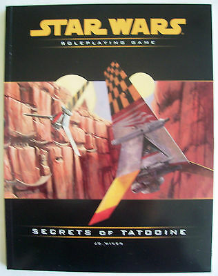 STAR WARS Role Playing Game RPG SECRETS OF NABOO Book - As New Uncirculated