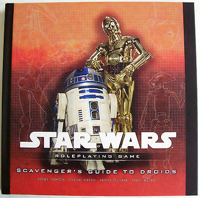 STAR WARS Role Playing Game RPG SCAVENGER'S GUIDE TO DROIDS Book - New