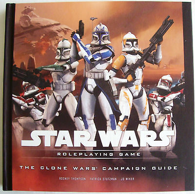 STAR WARS Role Playing Game RPG THE CLONE WARS CAMPAIGN GUIDE Book - New