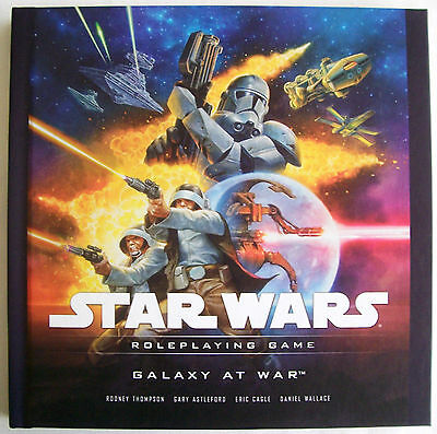 STAR WARS Role Playing Game RPG GALAXY AT WAR Book - New
