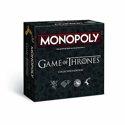 Winning Moves 44062 - Monopoly: Game of Thrones Collector's Edition - Deutsch