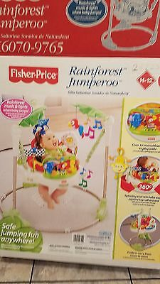 Fisher Price Rainforest Jumperoo Activity Baby Jumper