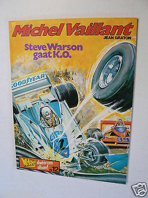 Dutch Comic Michel Vaillant Steve Warson K.o. Harko Wham No 12 1979