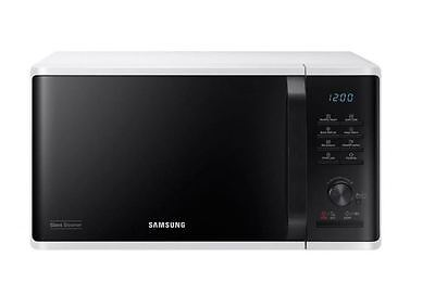 Samsung MS23K3555EW Solo Microwave Oven With 23L Capacity & Health Steam - White