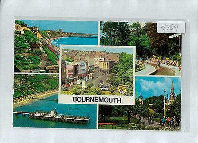 A5789aps UK Bournemouth Multiview postcard