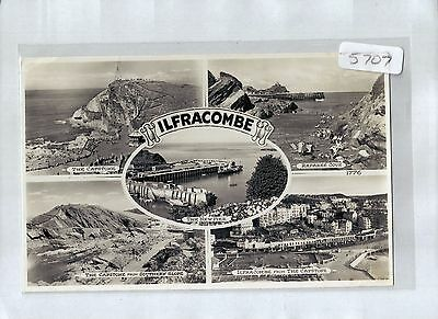 A5707aps UK Ilfracombe Multiview postcard