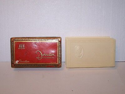 2 vintage with damage Johnston Candy boxes plastic Cameo cardboard Cavalier