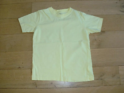 Girls Yellow T Shirt by ZY Age 8-9 Years