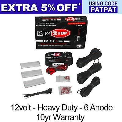 Rust-Stop Electronic Rust Protection System for 4x4 Trucks 12volt - 6 Electrodes