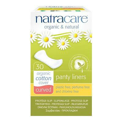 Natracare - Curved Panty Liners - 30 Count