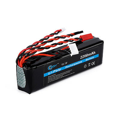 Hot Power 11.1v 2200mah 20C Lithium Battery Li-Polymer Rechargeable Battery AK