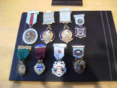 Masonic Buffs Large Collection Of Medals