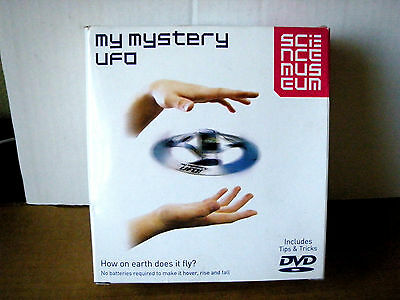 My Mystery UFO illusion flying disc including Science Museum information sheet