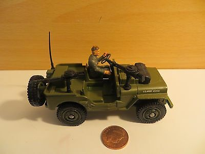 DINKY TOYS US ARMY JEEP - in VGC