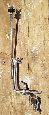 Vintage 1940S Premier U.k Clamp On Cymbal Mount For Bass Drum Free Post Aust