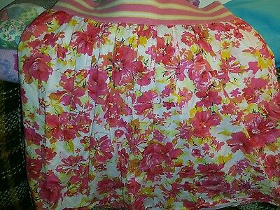 Old Navy maternity skirt/extra small/floral print