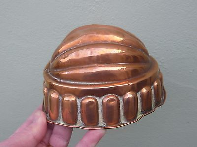 A Victorian Copper Jelly Mould c1850