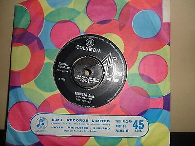 "The Vogues.younger Girl.columbia.7"" Vinyl Single.45Rpm"