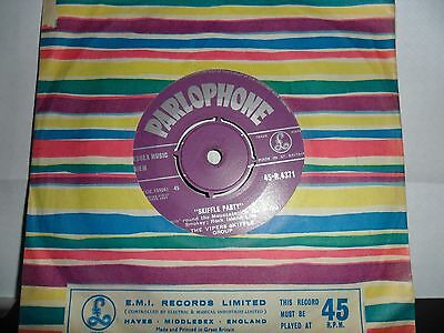 """The Vipers Skiffle Group.skiffle Party.parlophone.7"""" Vinyl Single.45Rpm"""