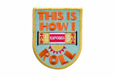This is How I Roll - Embroidered Patch