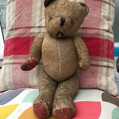 vintage jointed teddy bear