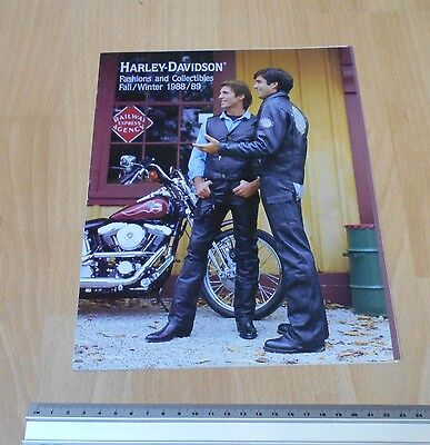 Harley Davidson Fashions & Collectables 1988/89 Catalogue